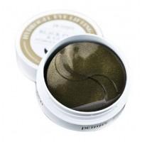 Black Pearl & Gold Hydrogel Eye Lifting Patch / Маска для кожи вокруг глаз гидрогелевая c черным жемчугом и золотом