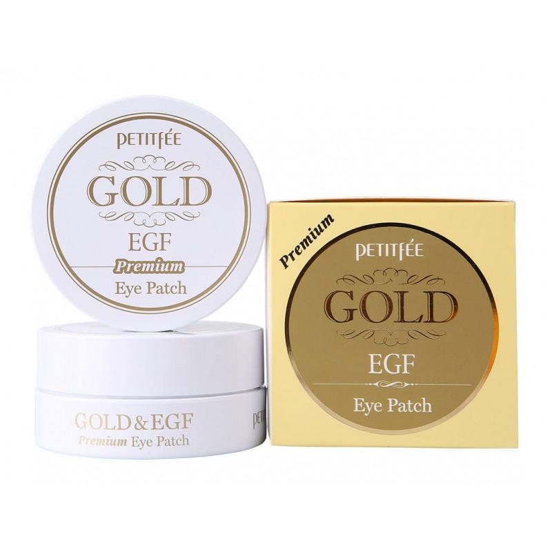 """Gold & EGF Eye & Spot Patch / Гидрогелевая маска для кожи вокруг глаз с золотом и EGF """"Премиум"""""""