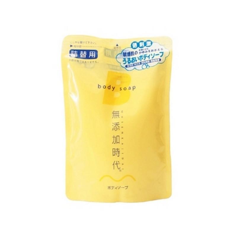 Mutenka Jidai Body Soap / Жидкое мыло для тела без добавок (запасной блок)