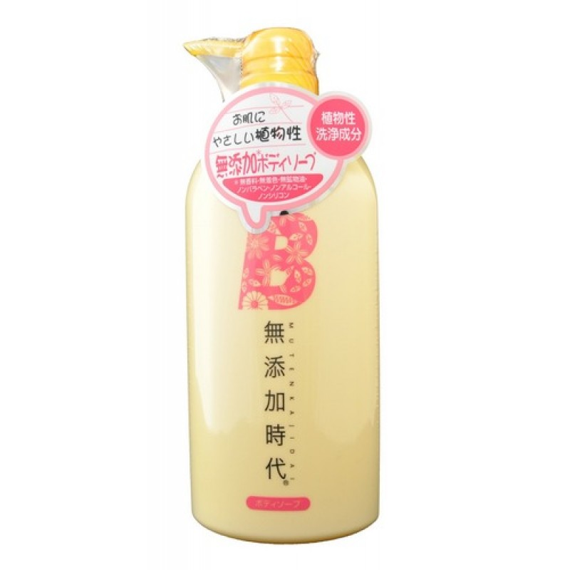 Mutenka Jidai  Body Soap / Жидкое мыло для тела без добавок