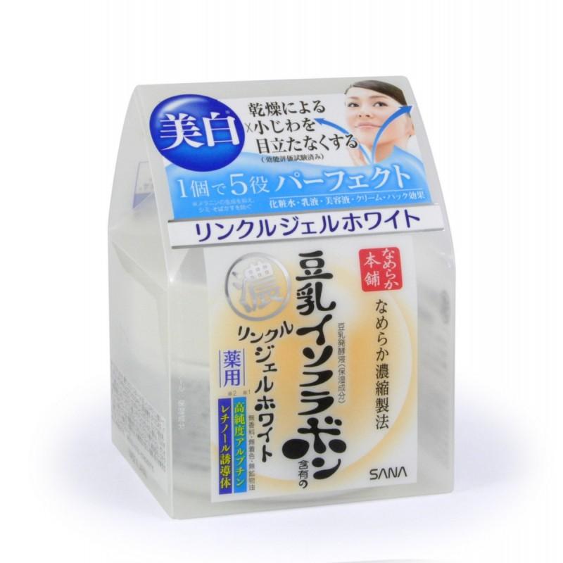 WRINKLE GEL CREAM / Увлажняющий и подтягивающий крем-гель с ретинолом и изофлавонами сои (с осветляющим эффектом)