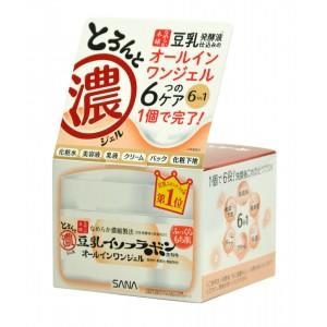 SOY MILK GEL CREAM / Крем - гель увлажняющий с изофлавонами сои 6 в 1