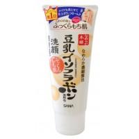 SOY MILK MOISTURE CLEANSING WASH / Пенка для умывания и снятия макияжа увлажняющая с изофлавонами сои