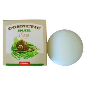 COSMETIC SNAIL SOAP / Косметическое мыло для умывания  с экстрактом слизи улитки
