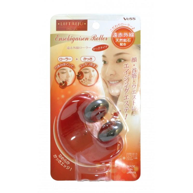 Liftreju Face&Body Roller / Роликовый массажер для лица и тела с минералами