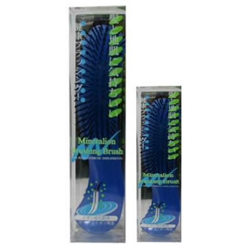 Mineralion Brush / Щетка массажная для сухих,ослабленных волос с минералами горных пород