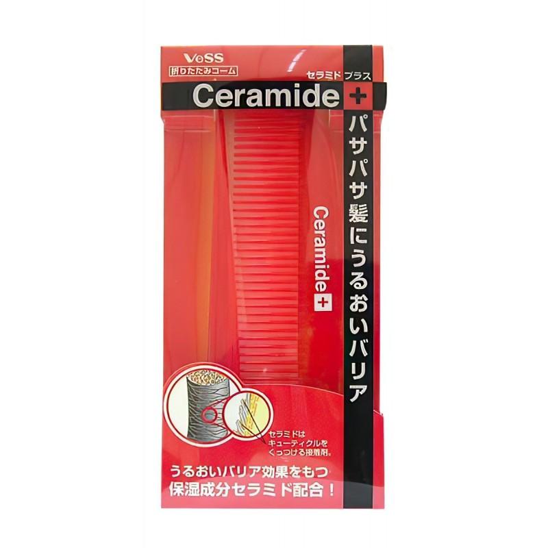 Ceramide Brush / Расческа  для увлажнения и смягчения волос с церамидами (складная)