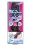 Secion Brush / Щетка массажная для ухода за волосами с отрицательно заряженными ионами, складная