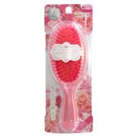 MOIST HERB BRUSH / Щетка массажная для увлажнения и придания блеска волосам с маслом розы (круглая)