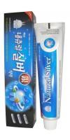 Зубная паста-гель с натуральным серебром
